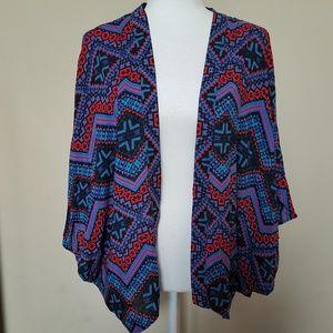 3/$30 EXPRESS Tribal Print Kimono